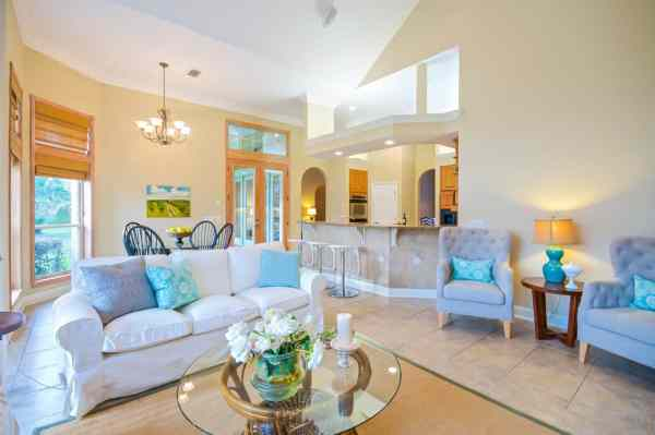 glass coffee tables in home staging training