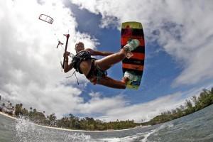 kitesurf ragazza
