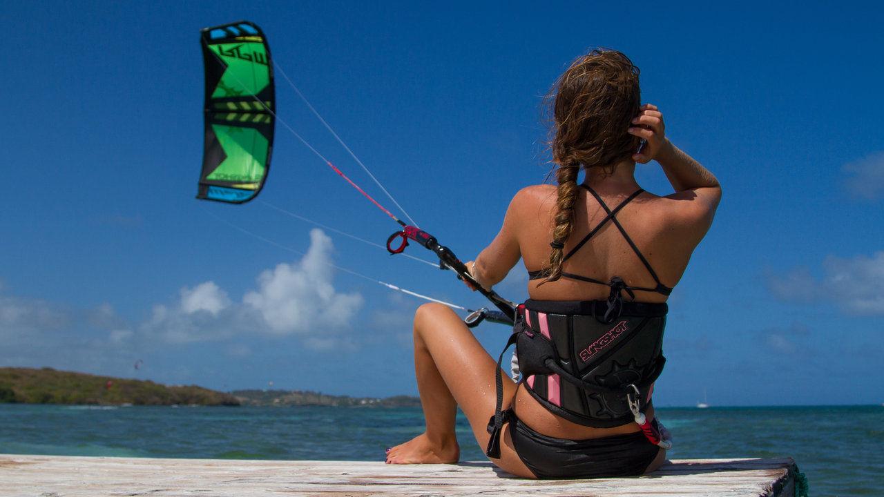 imparare il kitesurf allo stagnone di marsala