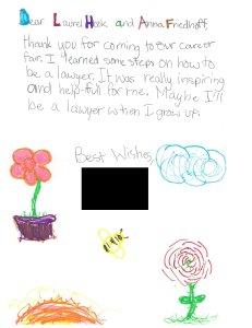 Ainsworth Elementary School Career Fair Thank You