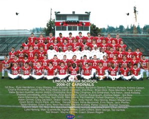 2006 Cardinals team photo.