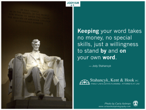 Photo of Lincoln Memorial + Jodyism.
