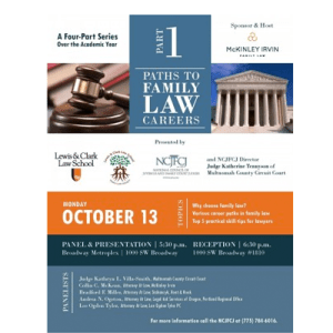 Paths to a Family Law Career