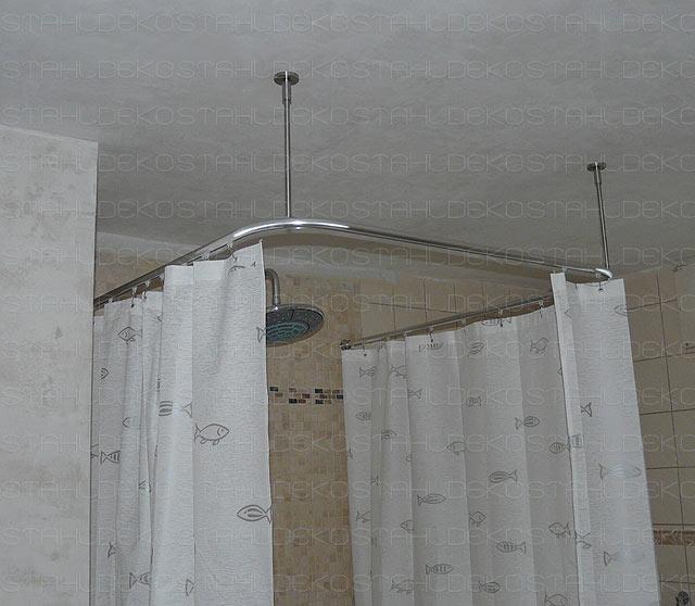 aluminium shower curtain rod