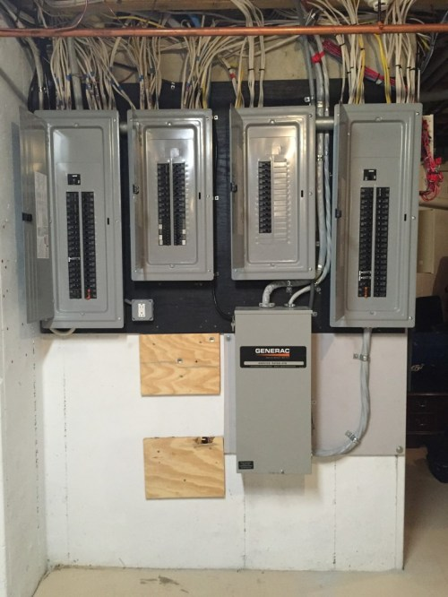 small resolution of after finished breaker box completed up to code