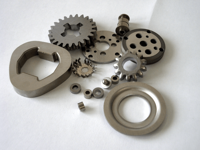 Workpieces after flat honing