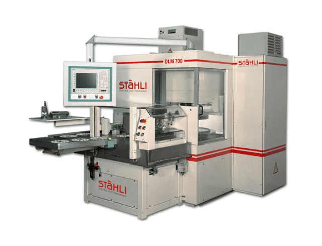 Double sided grinding machine