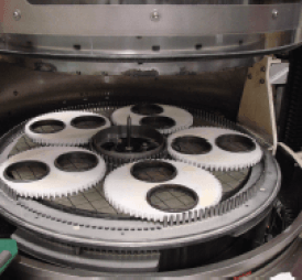 Mental Bond Wheel on double sided fine grinding machinef