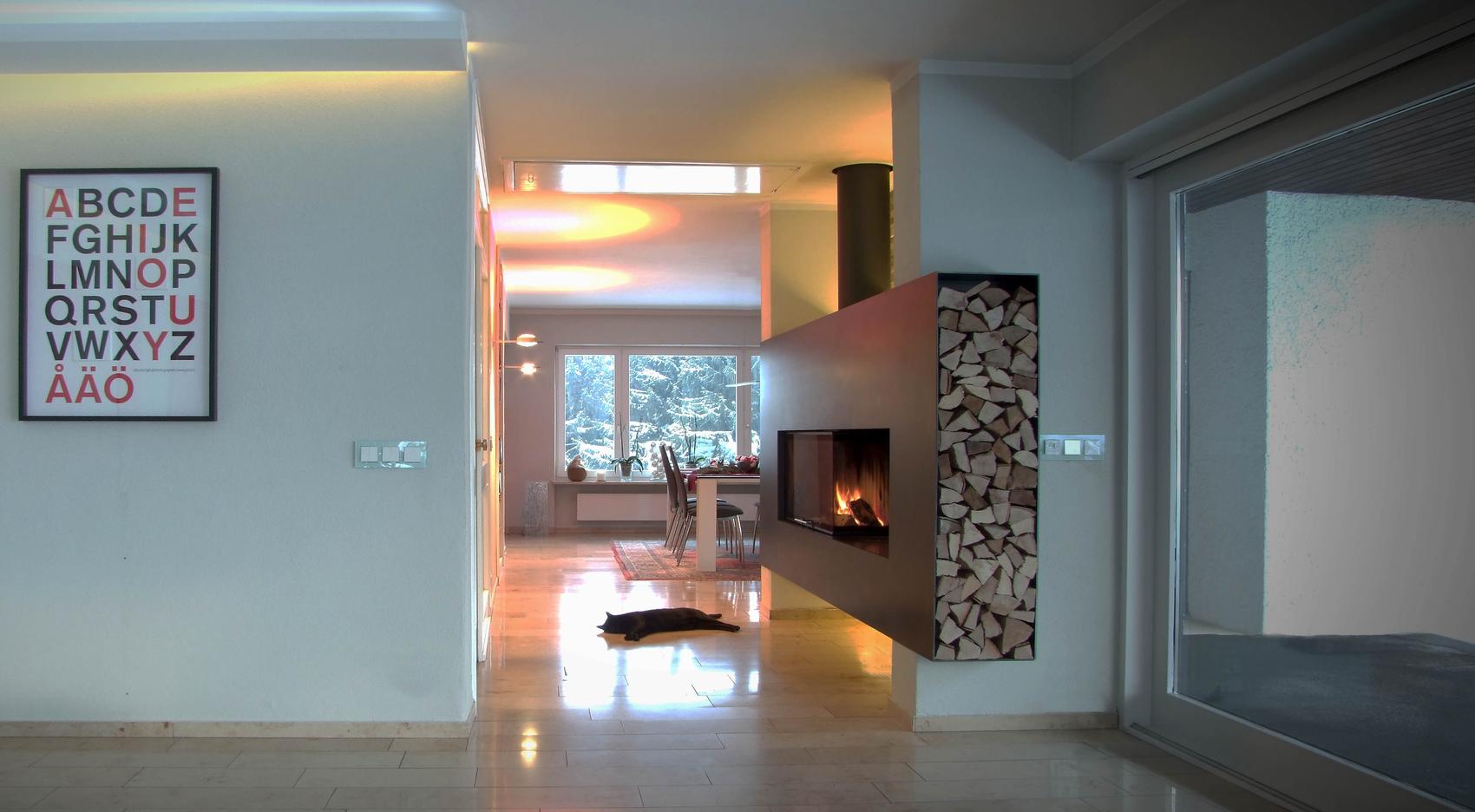 Moderne Feuerstellen Kachelfen Grundfen und Design Kamine aus Stahl Stahlofen Ofendesign