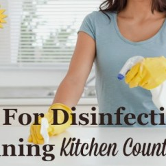 Kitchen Cutting Board Hansgrohe Faucet Tips For Disinfecting & Cleaning Countertop Surfaces
