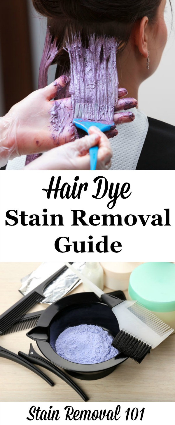 how to remove hair dye stain from leather sofa asda direct beds removal guide the ultimate for clothing upholstery carpet hard surfaces