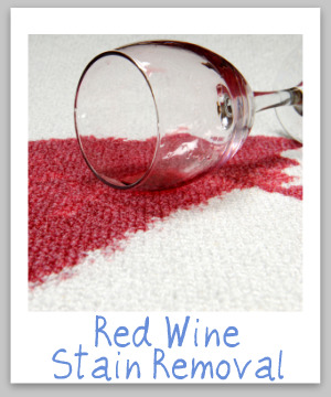 Red Wine Stain Removal Guide For Clothes Upholstery & Carpet