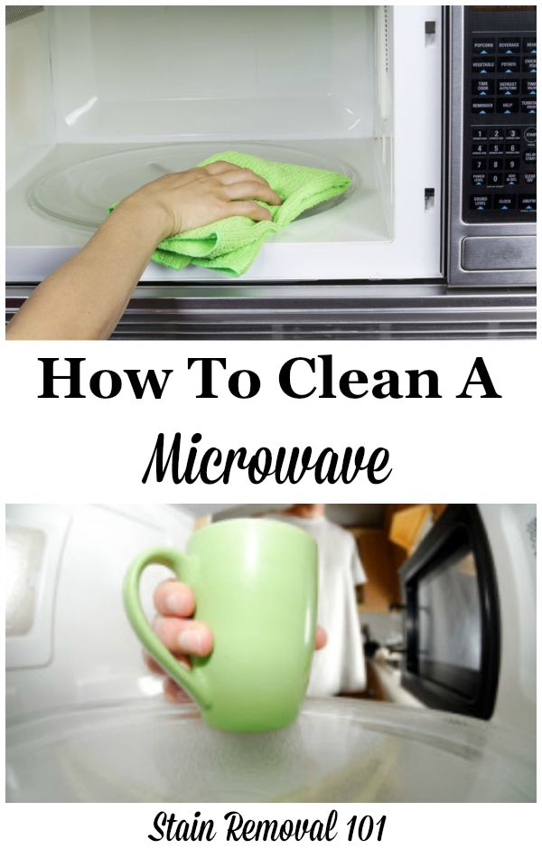 how to clean microwave home remedies