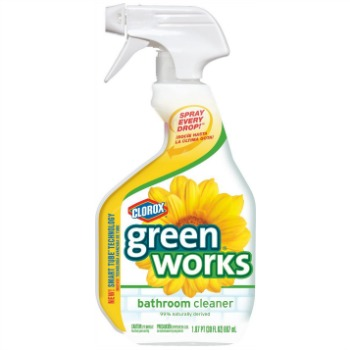Clorox Green Works Bathroom Cleaner Review Works On Hard Water Build Up