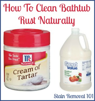 Will Vinegar Remove Rust Stains