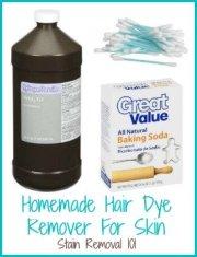 tips removing hair dye