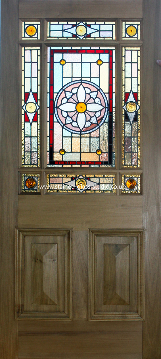 Door Stained Glass Home Design Ideas