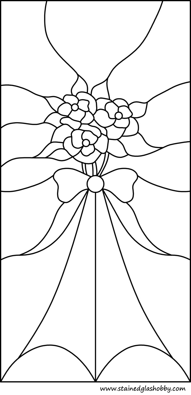 Victorian Window Stained Glass Pattern