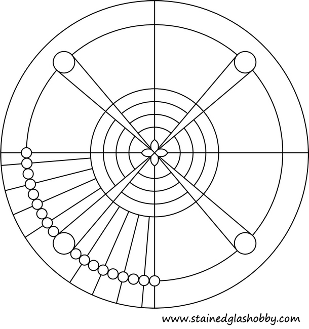 circular patterns coloring pages