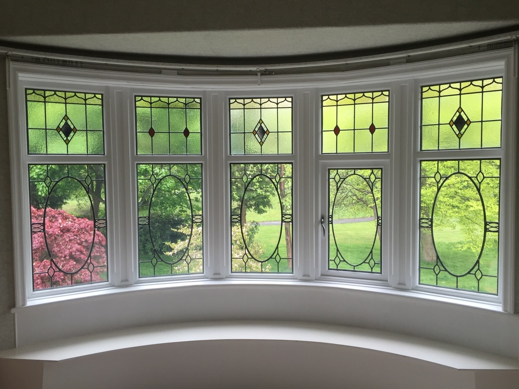 Encapsulated Stained Glass Triple Double Glazing  Stained