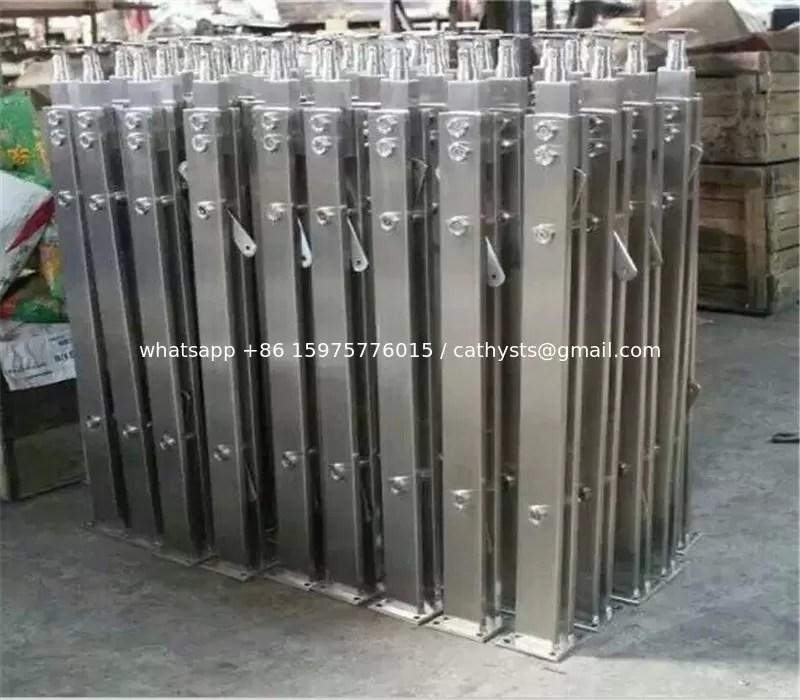 Modern Designs Metal Steel Pipe Stair Stainless Steel Handrail | Outdoor Metal Stair Railing | Ornamental | Banister | Custom | Urban Metal Deck | Garden