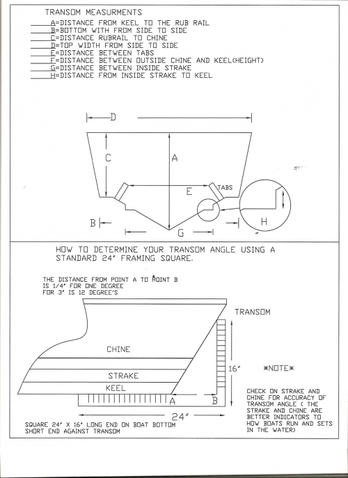 small resolution of transom maearurement layout