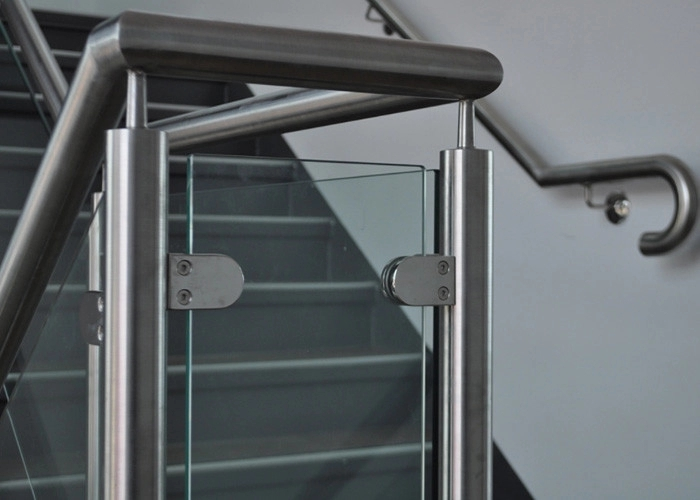 Customized Design Glass Stair Railing Aesthetics Stainless Steel   Glass Balustrade Stairs Near Me   Railing Systems   Handrails   Wood   Floating Stairs   Tempered Glass Panels