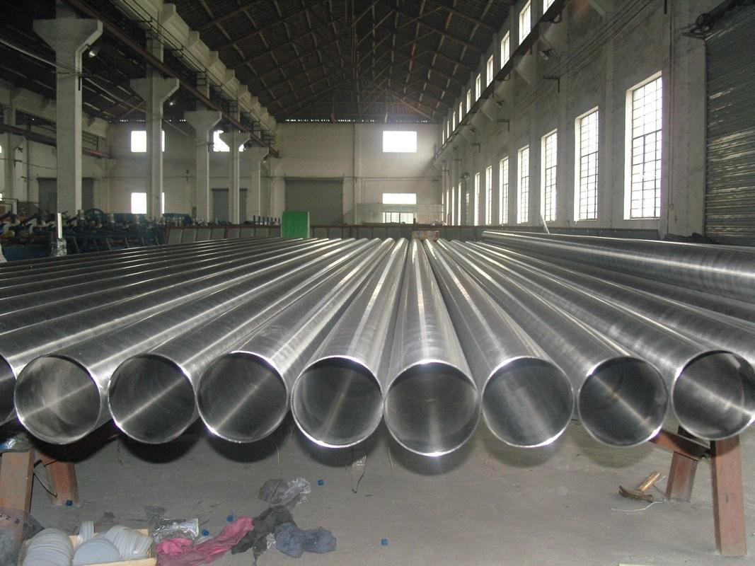 Welded 200 300 Series Stainless Steel Welded Tube 10mm-200mm Diameter