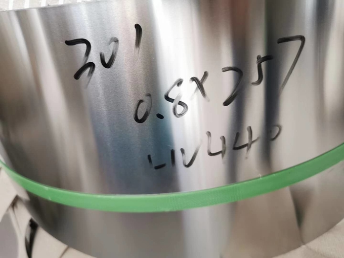 SUS301-CSP EH JIS G 4313 Cold Rolled Stainless Steel Strip Deburred Edges Bright Finish