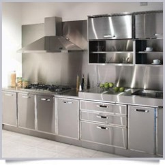 Metal Kitchen Cabinets Manufacturers Black And White Table Ss Stainless Steel Suppliers In Bangalore