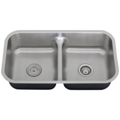 Stainless Steel Kitchen Sink Reviews Ikea Dinette Sets Ticor S1210 Low-divide Undermount 16-gauge ...