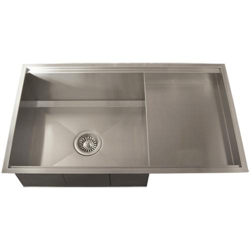 square kitchen sink camo appliances ticor tr4100 undermount 16 gauge stainless steel accessories
