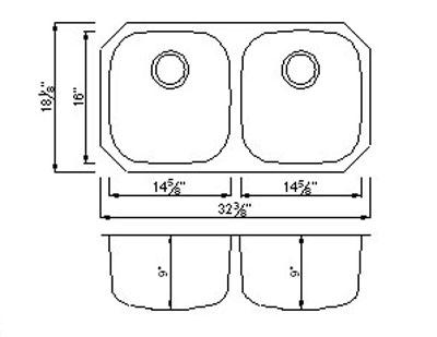 Double Sink Drain Diagram Double Kitchen Sink Plumbing