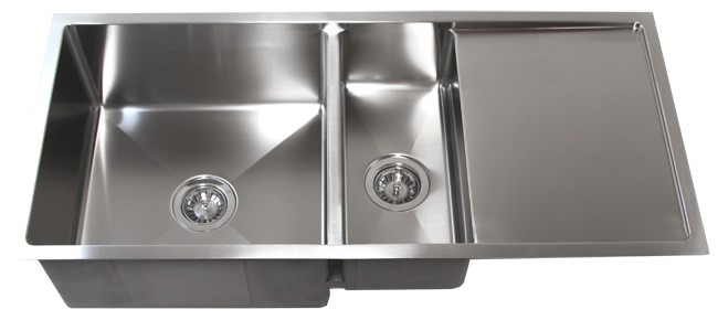 kitchen draining board sink frame 42 stainless steel undermount w drain tz4219cfd