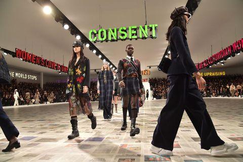 dior  runway   paris fashion week womenswear fallwinter 20202021
