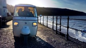 Isle of Wight couple aim to reduce impact of tourism with a tuk-tuk