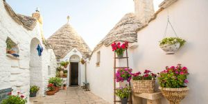 The home of Puglia's enchanting Trulli