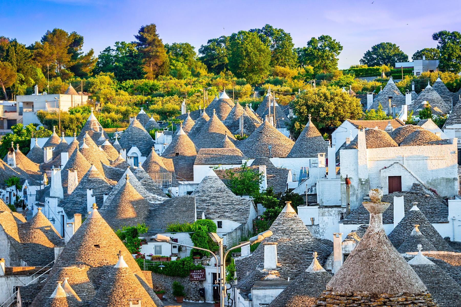 See the Trulli in Puglia, Italy