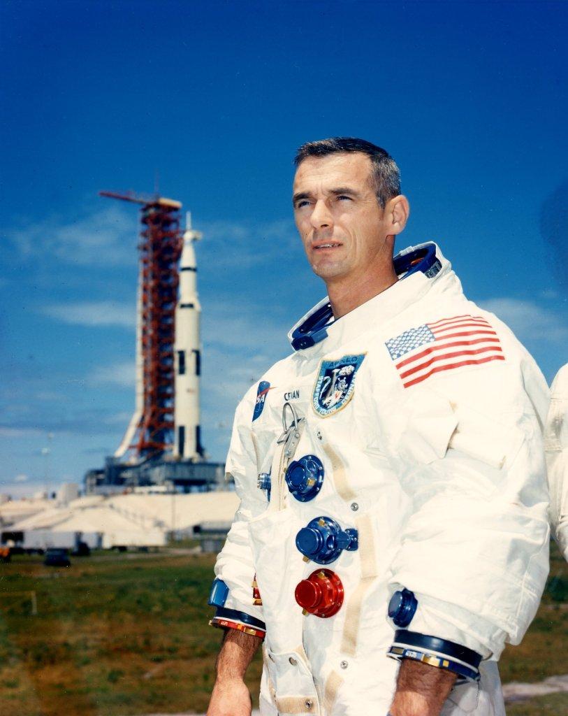 Gene Cernan Apollo 10