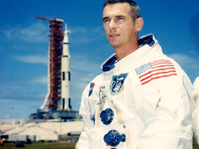 Gene Cernan Apollo 10