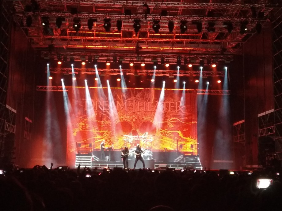 Palco dei Dream Theater al Rock in Castle