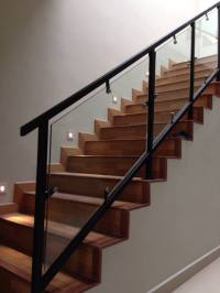 Mild Steel Staircase,Glass Staircase,Staircase Railing