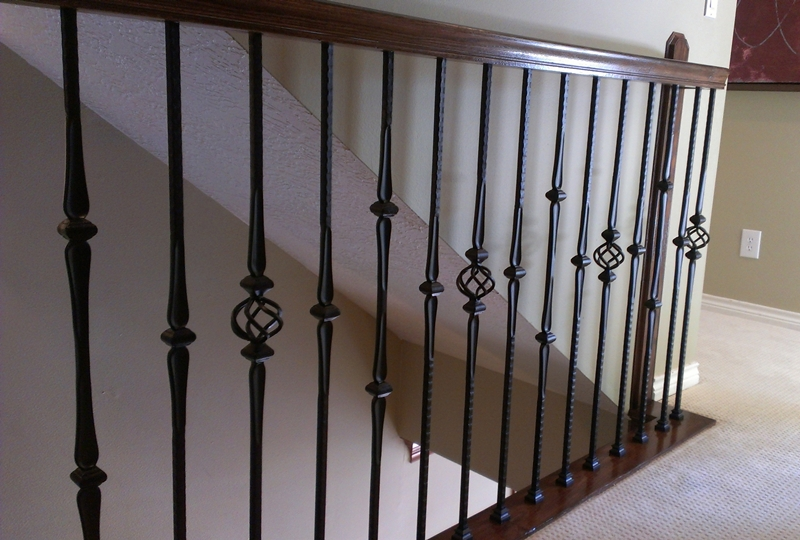 Gothic Series Wrought Iron Balusters