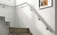 Wall Mounted Metal Handrails - Stair Parts Online