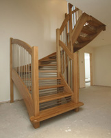 Staircases choosing the timber and style