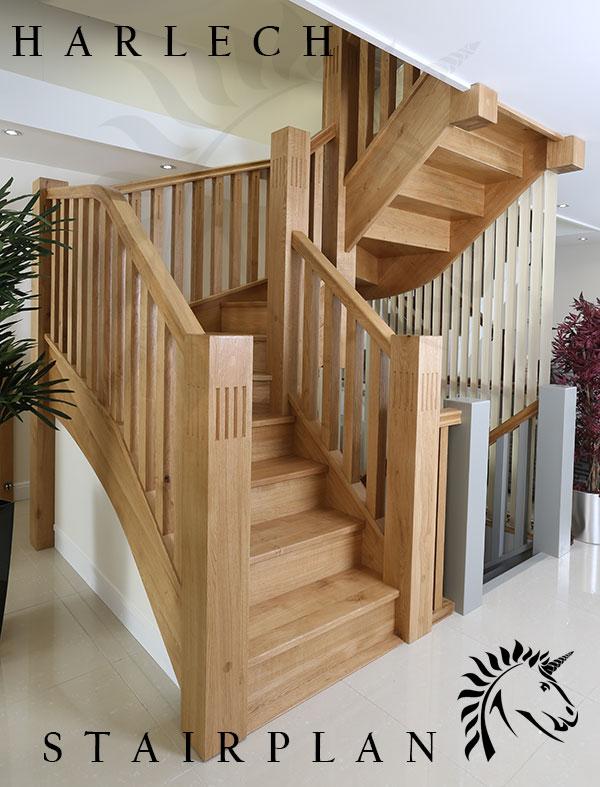 Harlech Oak Staircase Character Oak Stair