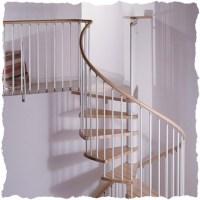 Spiral Staircases | Arke Spiral stair Kit | Klan spiral ...