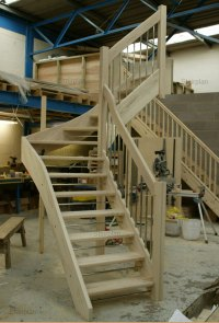 Open Stair Construction Pictures to Pin on Pinterest ...