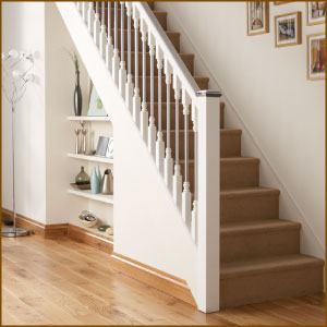 Good Superb White Oak Handrails For Stairs 7 Staircase Spindles