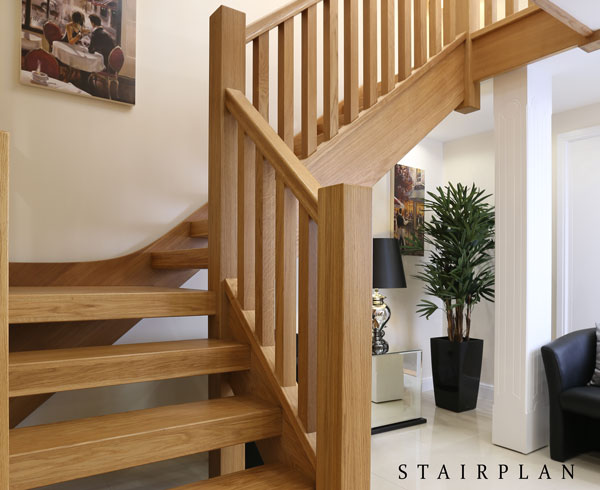 New Townsend Staircase Ultimate Modern Oak Staircase